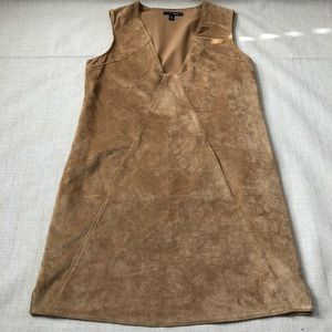 Anthro Dolce Vita Sleeveless Faux Suede V Neck